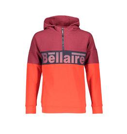 Bellaire Bellaire jongens hoodie Kakoi Bordeaux