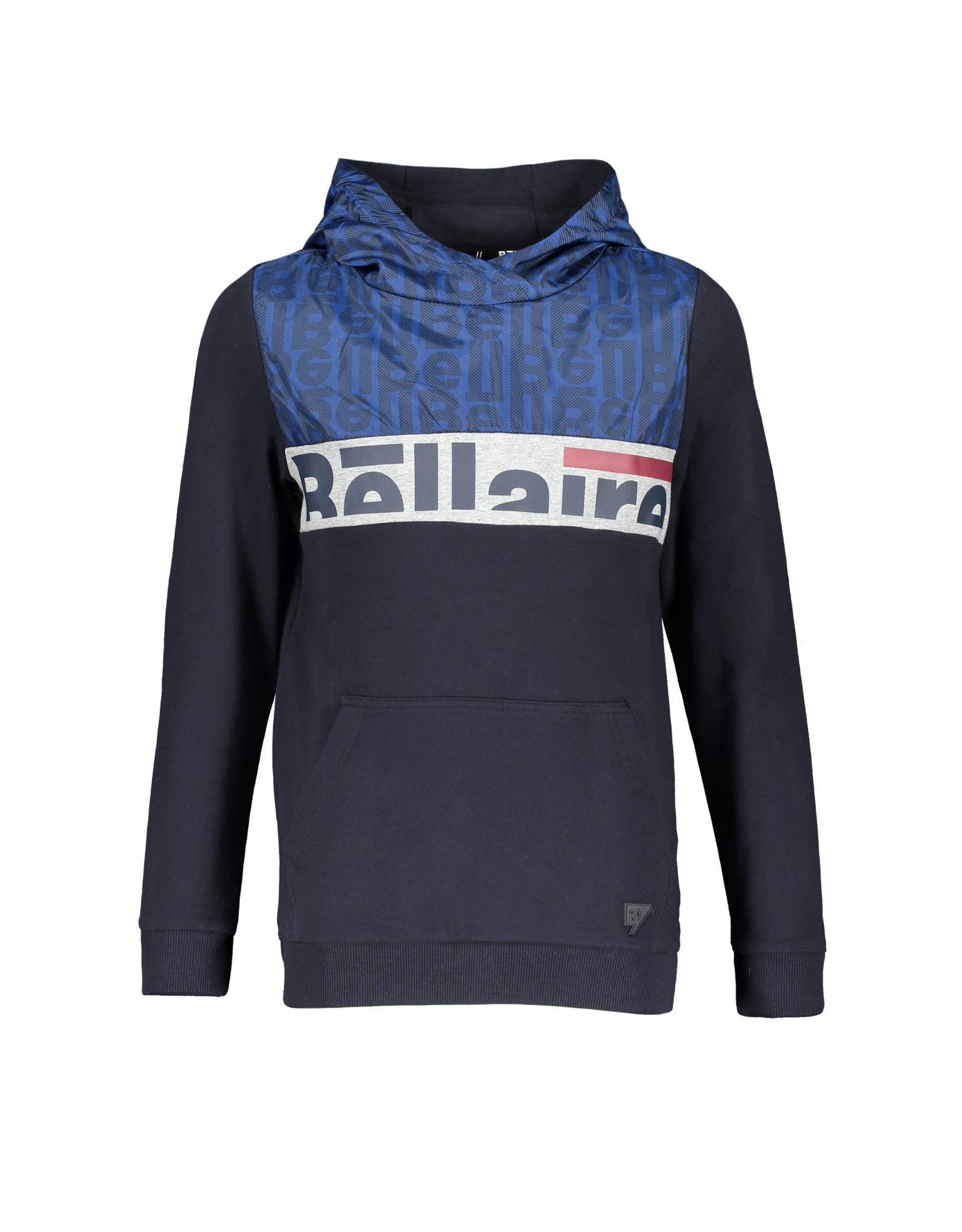 Bellaire Bellaire jongens hoodie Kaso Navy Blazer