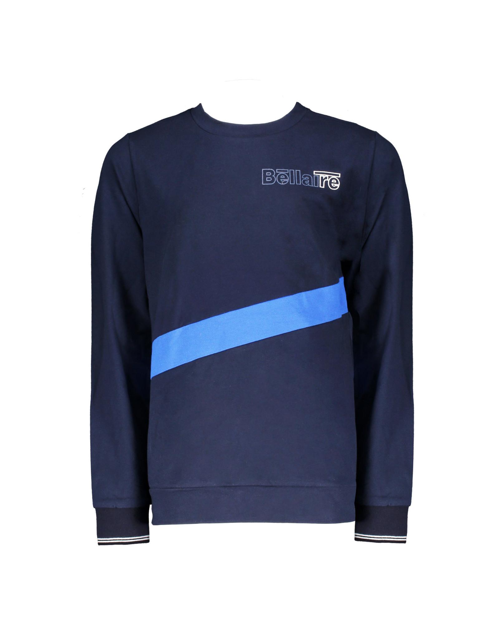 Bellaire Bellaire jongens shirt Kars Navy Blazer