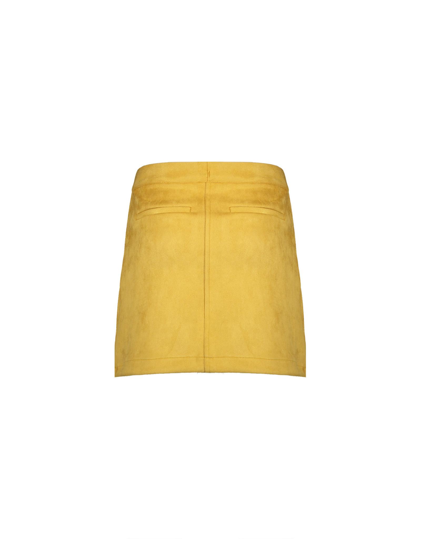 NoBell meiden suede rok NishaB Yellow Gold