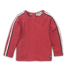 Koko Noko Koko Noko jongens shirt met logo bies Red