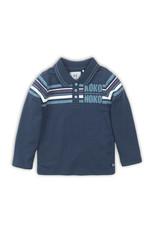 Koko Noko Koko Noko jongens polo shirt met logo Navy