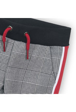 Koko Noko Koko Noko meisjes geruite broek met bies Black Check