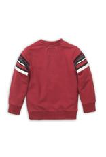 Koko Noko Koko Noko jongens sweater met strepen Red