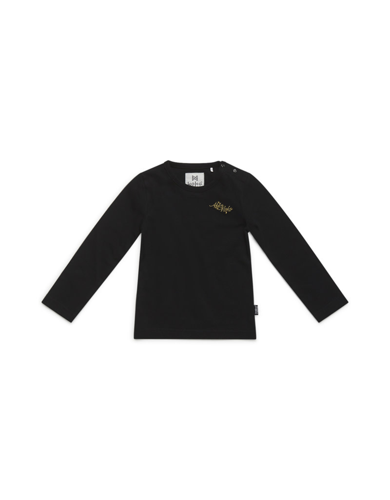 Koko Noko Koko Noko meisjes shirt basic Black