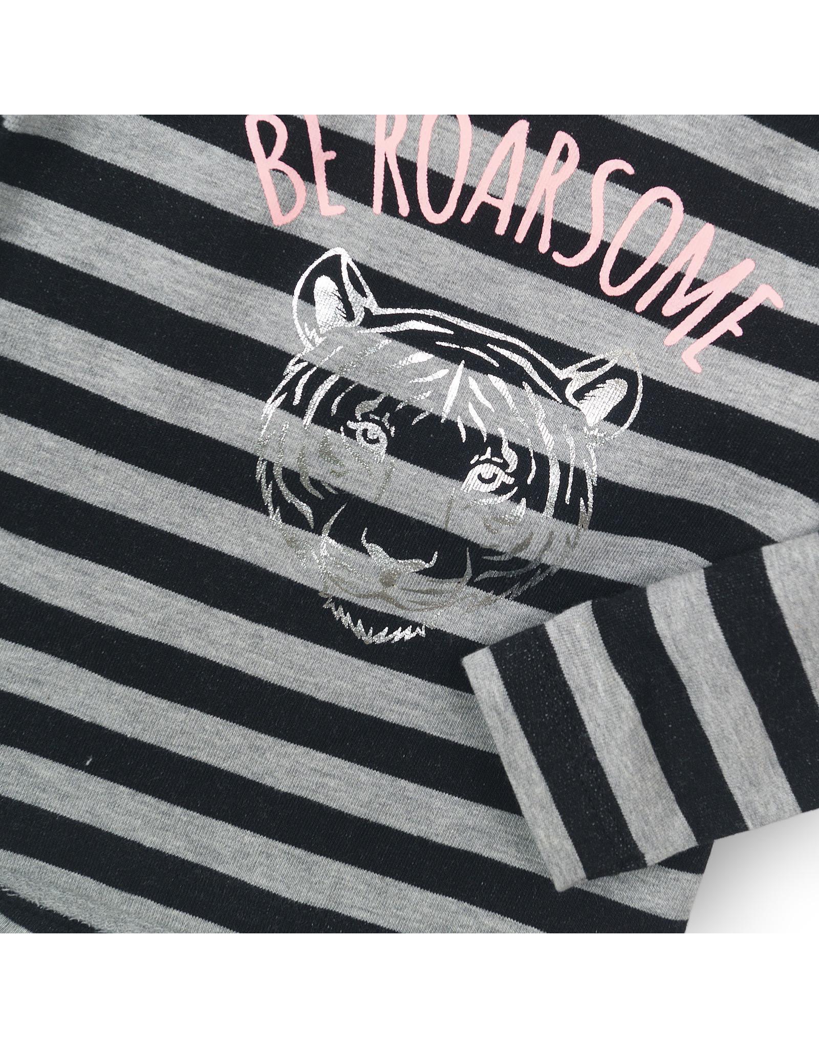 Dirkje Dirkje baby meisjes shirt Be Roarsome