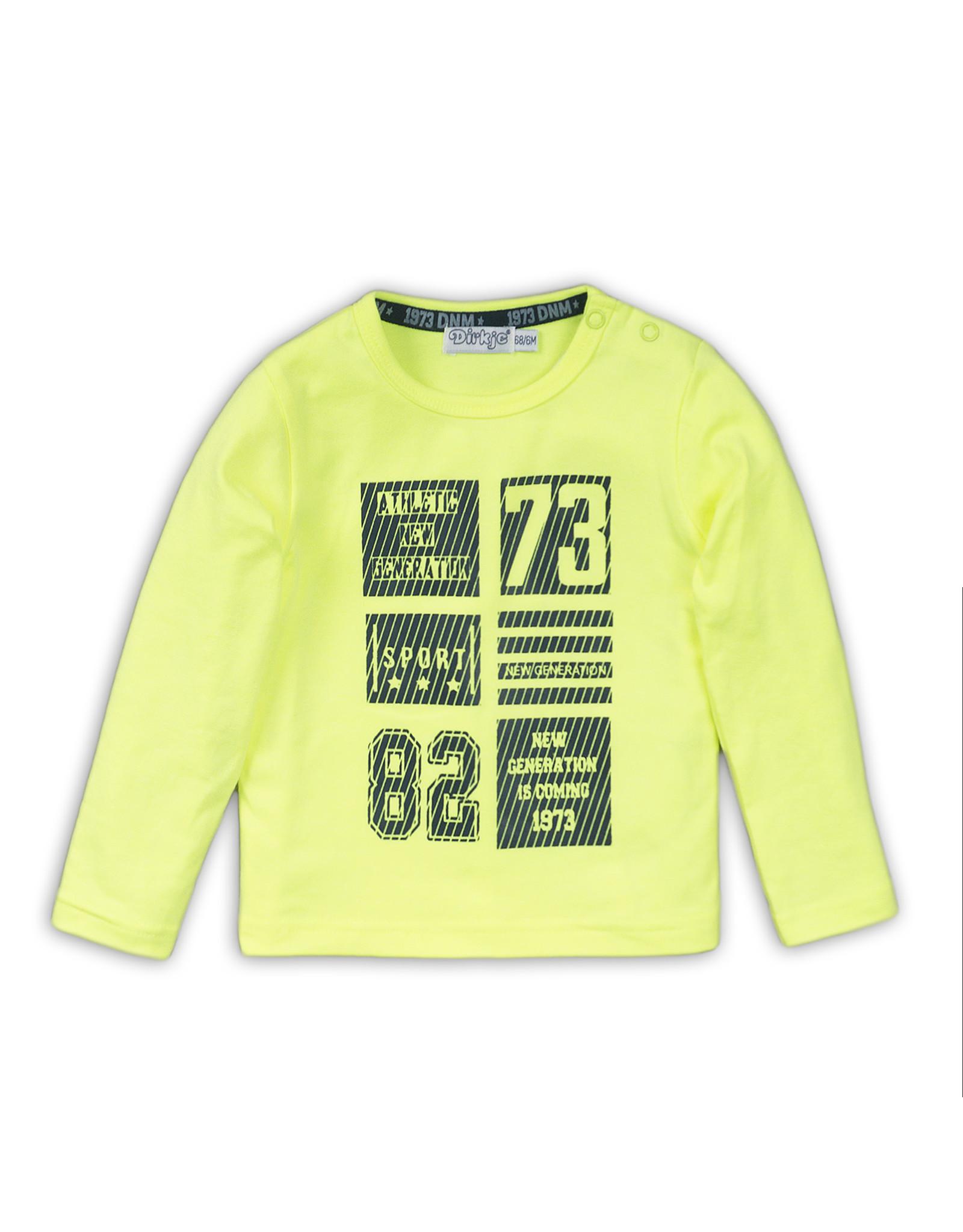 Dirkje Dirkje baby jongens shirt New Generation