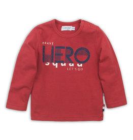 Dirkje Dirkje baby jongens shirt Red Hero