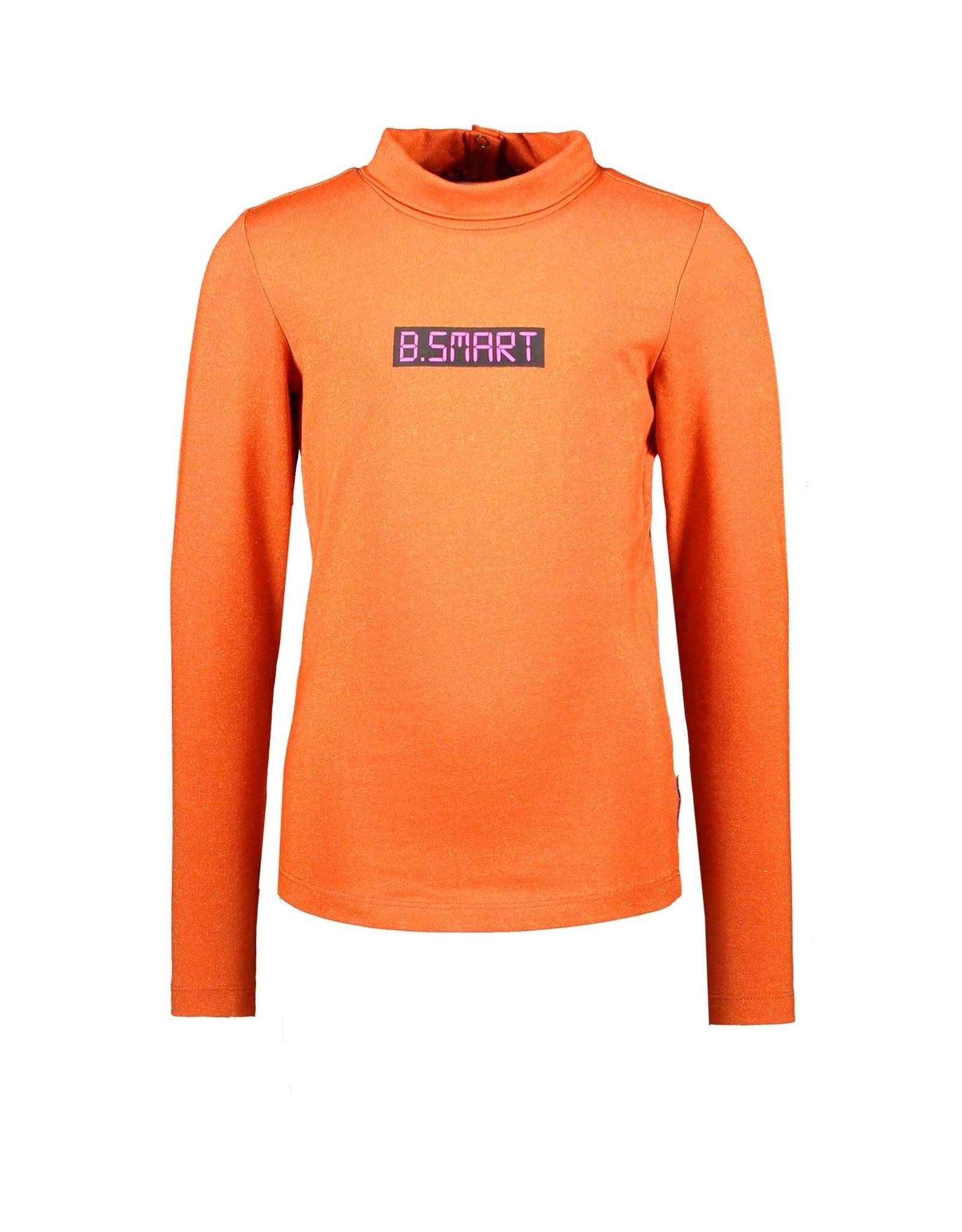B.Nosy B.Nosy meisjes colshirt B.Smart Hot Orange