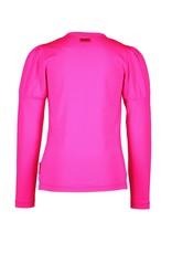 B.Nosy B.Nosy meisjes shirt Girlish Pink Glo