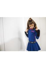 B.Nosy B.Nosy meisjes jurk Smart Cobalt Blue