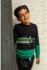 B.Nosy B.Nosy jongens sweater Fast Camouflage