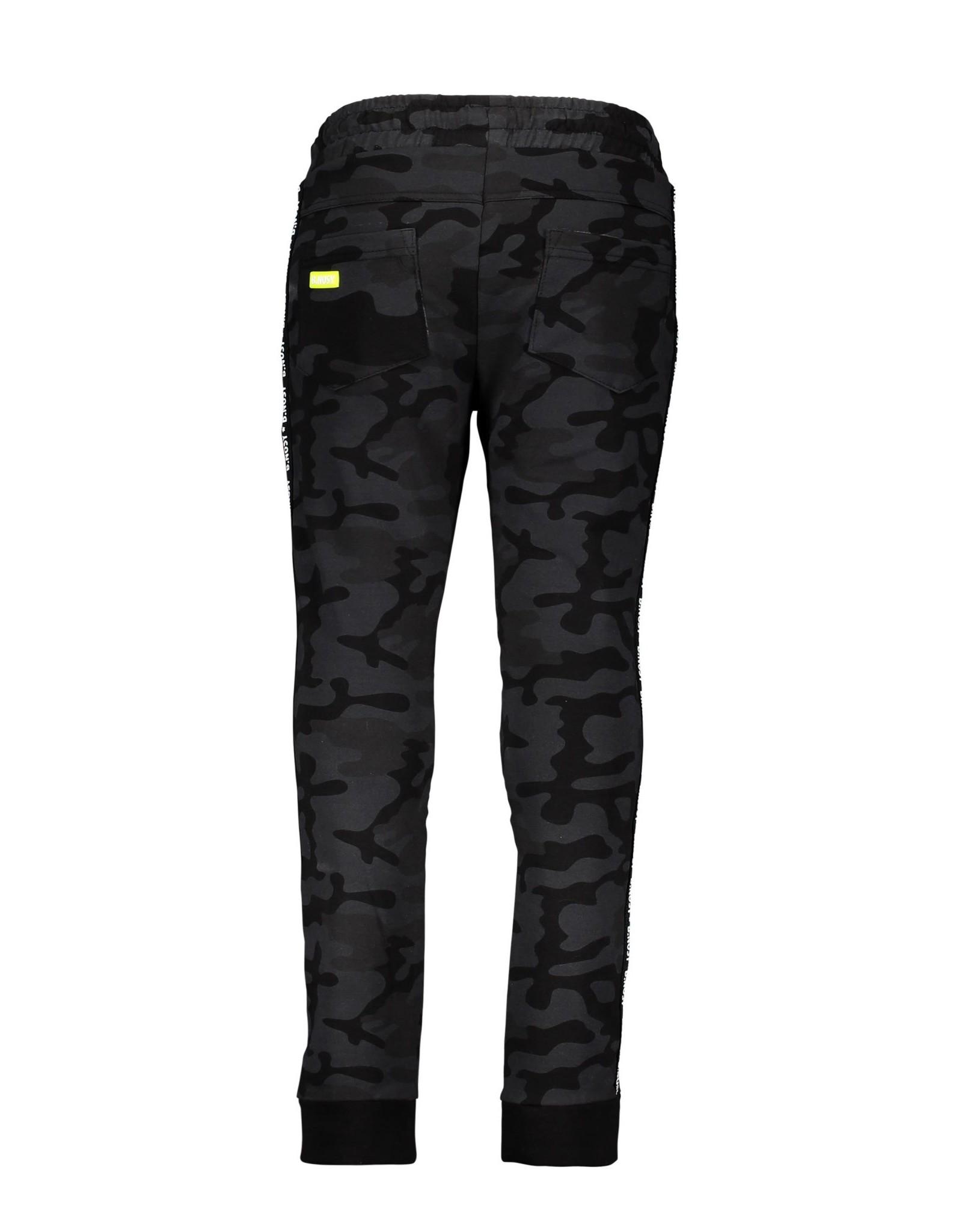 B.Nosy B.Nosy jongens joggingbroek Fast Camouflage Black