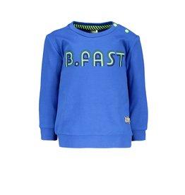 B.Nosy B.Nosy baby jongens sweater B.Fast Nautical Blue