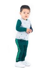 B.Nosy B.Nosy baby jongens sweater X Grey Melee
