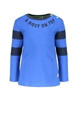 B.Nosy B.Nosy baby jongens shirt On Top Nautical Blue