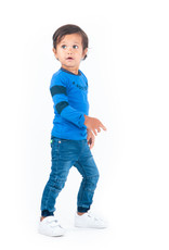 B.Nosy B.Nosy baby jongens jeans Dark Blue Denim