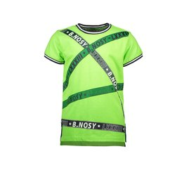 B.Nosy B.Nosy jongens t-shirt met biezen Gecko Green