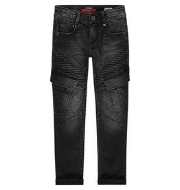 Vingino Vingino jongens flexfit jeans Apache Cargo Black