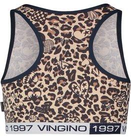 Vingino Vingino meiden ondergoed top Leopard Love
