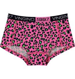 Vingino Vingino meiden ondergoed 2-pack boxers Bella Neon Pink