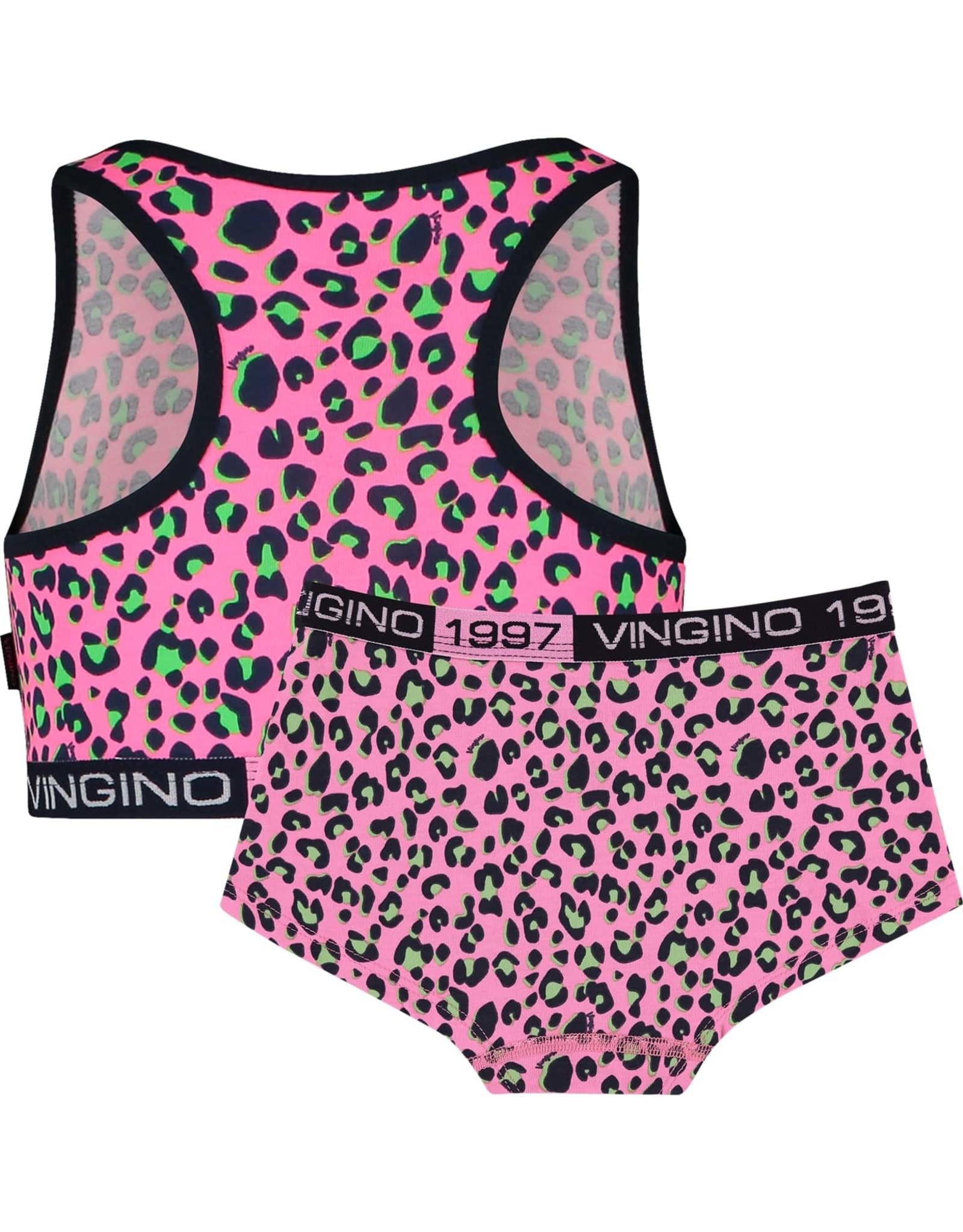 Vingino Vingino meiden ondergoed set Bella Neon Pink