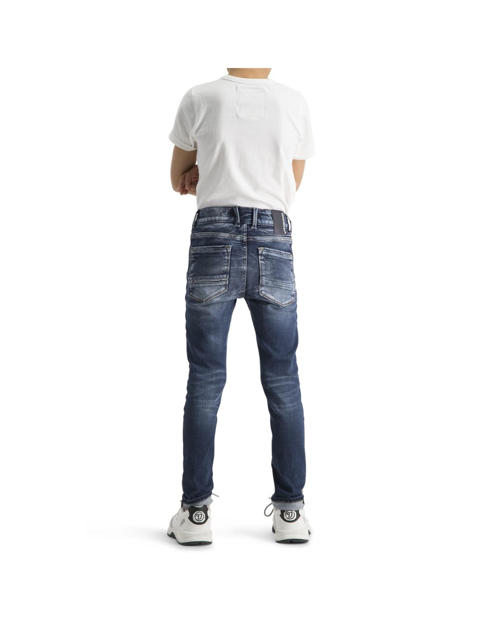 Vingino Vingino jongens super soft jeans Amos Blue Vintage