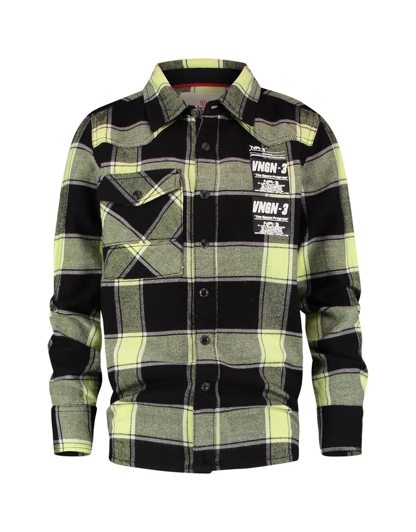 Vingino Vingino jongens blouse Linez Deep Black