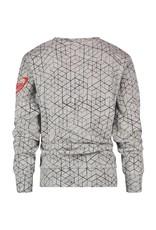 Vingino Vingino jongens sweater Nashe Light Grey Melee