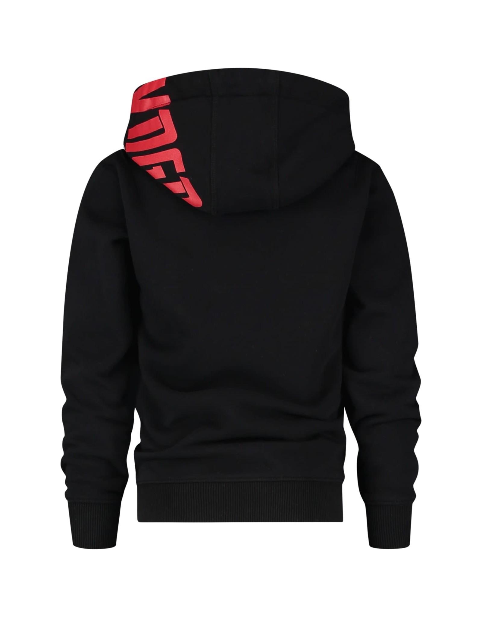 Vingino Vingino jongens hoodie Nerick Deep Black