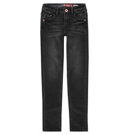 Vingino Vingino meiden super soft jeans Amiche Dark Grey Vintage