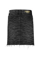 Vingino Vingino meiden jeans rok Darla Black Vintage