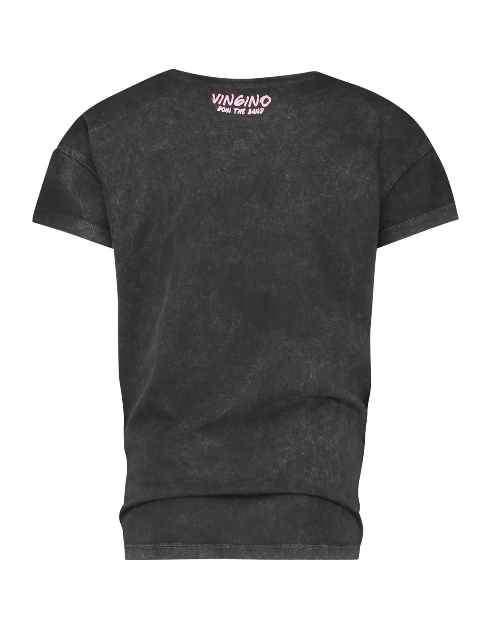 Vingino Vingino meiden t-shirt Hedika Deep Black