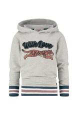 Vingino Vingino meiden hoodie Nirle Grey Mele