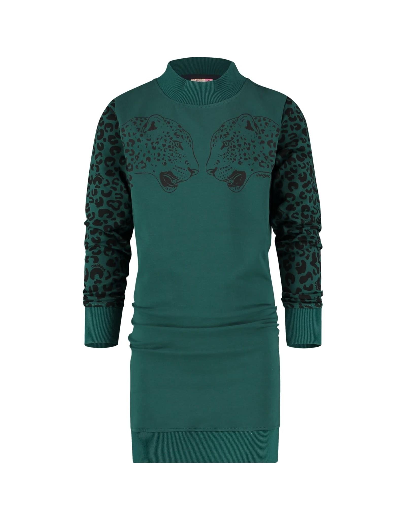 Vingino Vingino meiden jurk Palloes Deep Green