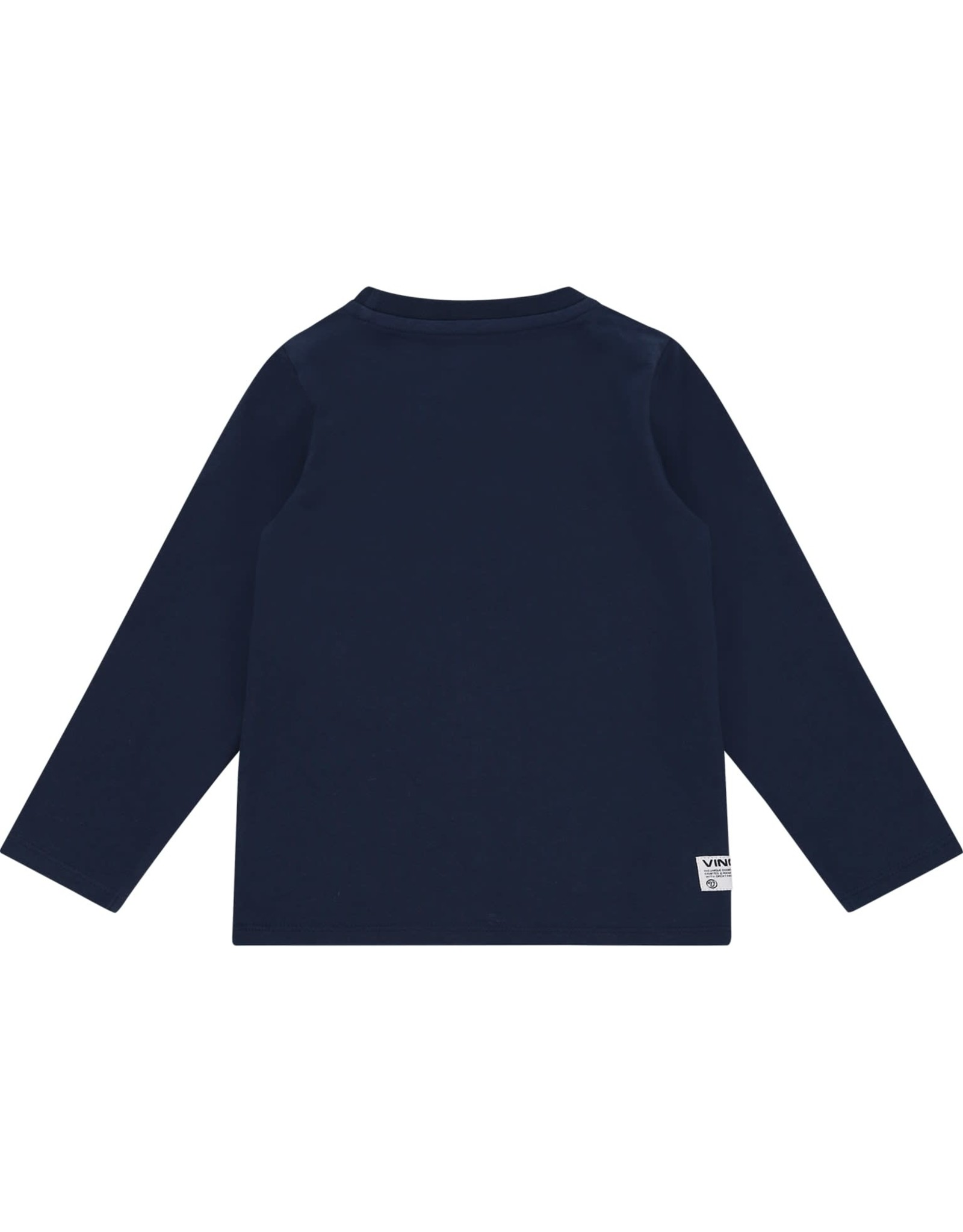 Vingino Vingino jongens shirt Jadey Mini Dark Blue