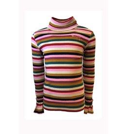 Topitm Topitm meiden rib shirt Aura Multicolour