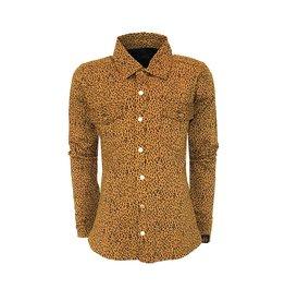 Topitm Topitm meiden blouse Lola Leopard Brown