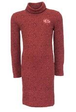 Topitm Topitm meiden jurk Afke Leopard Ketchup