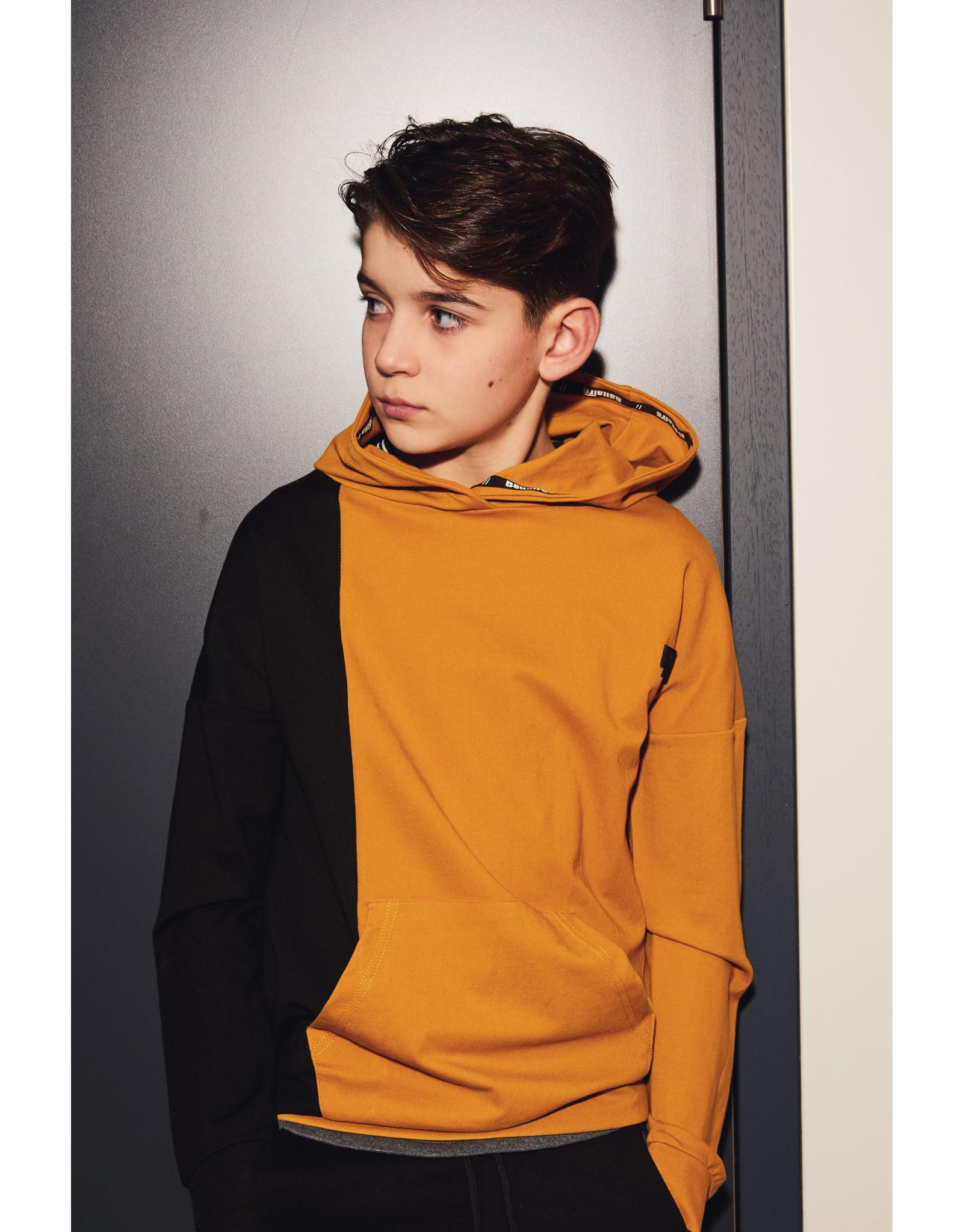 Bellaire Bellaire jongens hoodie Kaso Mustard Yellow