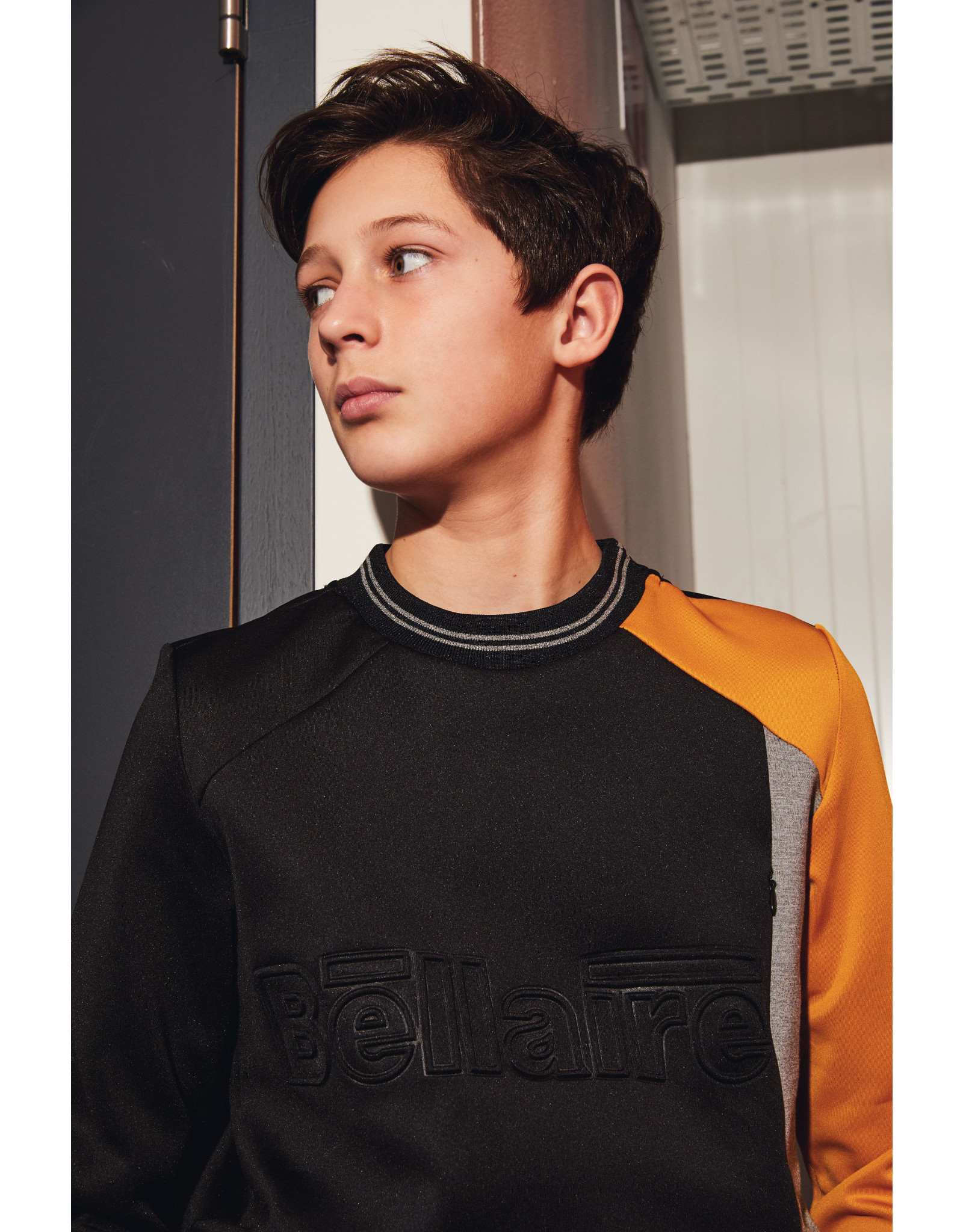 Bellaire Bellaire jongens sweater Koen Jet Black