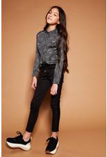 NoBell NoBell meiden blouse Tinka Jet Black