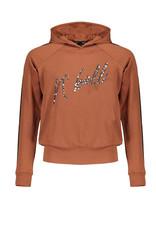 NoBell meiden hoodie Kissy Chestnut