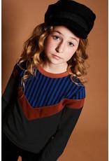 NoBell NoBell meiden sweater Kamil Intense Kobalt