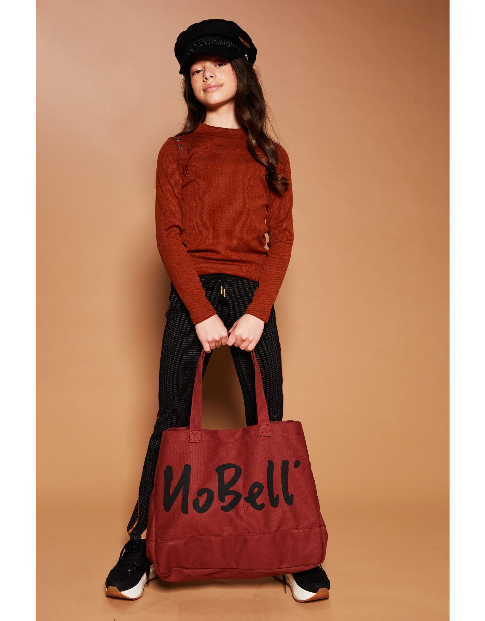 NoBell meiden shirt KimoB Chestnut