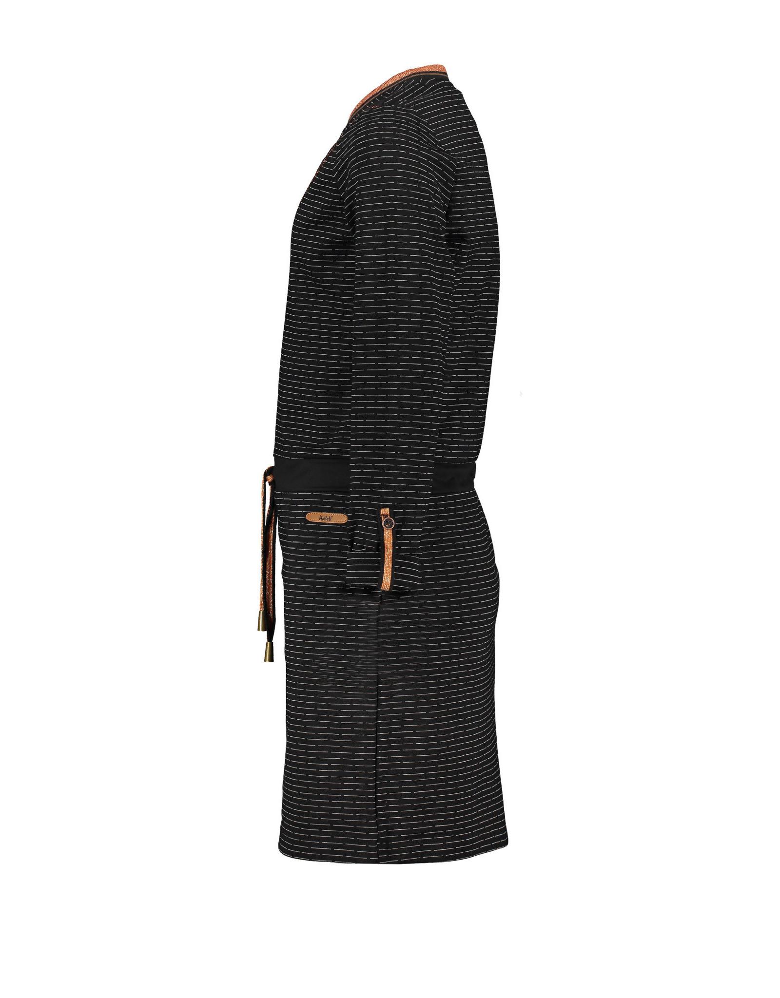 NoBell meiden jurk Manou Jet Black