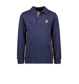 TYGO & vito TYGO & vito jongens polo shirt met Bies Navy