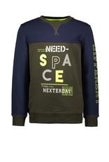 TYGO & vito TYGO & vito jongens sweater Space D.Army