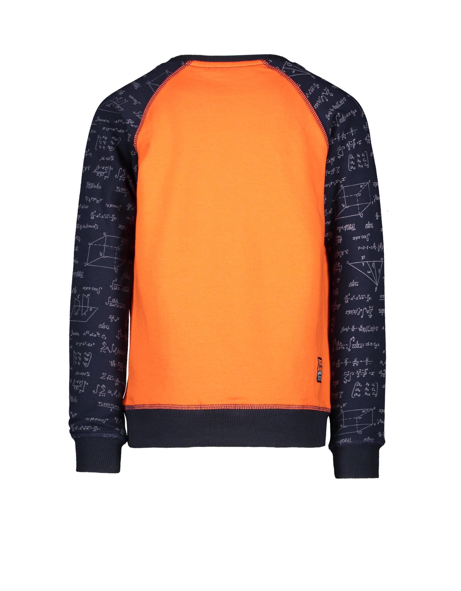 TYGO & vito TYGO & vito jongens sweater Genius Navy