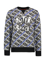 TYGO & vito TYGO & vito jongens sweater Outer Space D.Grey melee